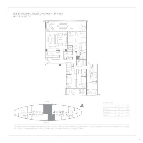 Five Bedroom Serviced Apartments
