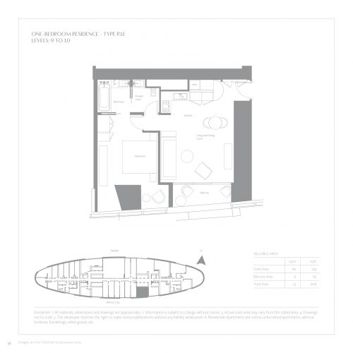 One Bedroom Residences