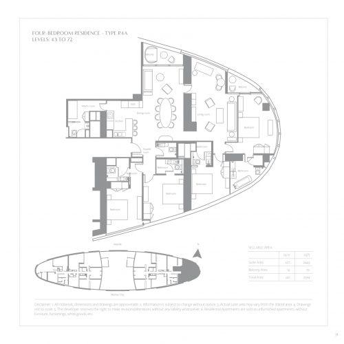 Four Bedroom Residence