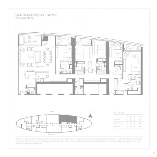 Five Bedroom Residence
