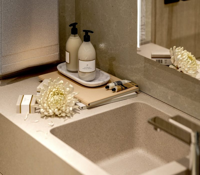 Bathroom Close Up